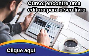 ENCONTRE UMA EDITORA PARA O SEU LIVRO