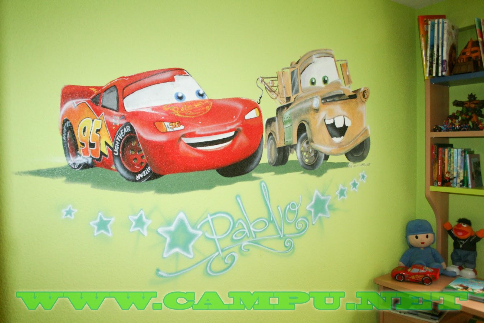 Campu net dise o pintura aerografia e ilustracion for Diseno de habitaciones infantiles