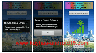 NETWORK SIGNAL SPEED ENHANCER 3.0 FOR ANDROID