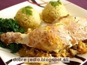 Smotanové kurča na kapuste - recept