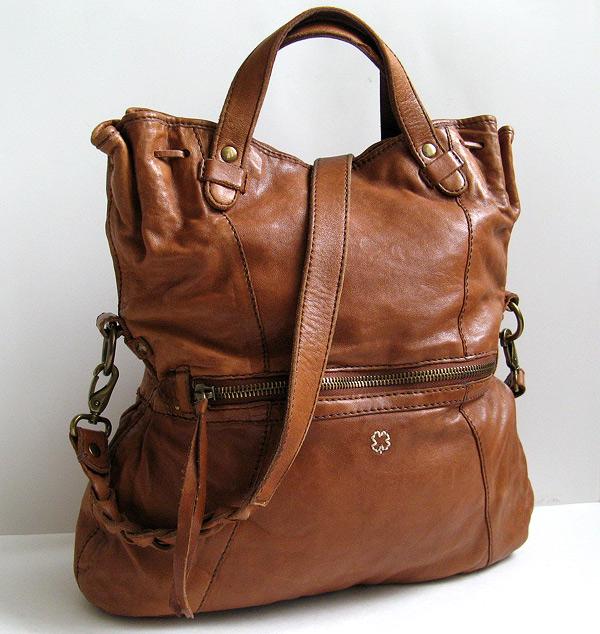 Good Closet Lucky Brand Brown Leather Italian Handbag
