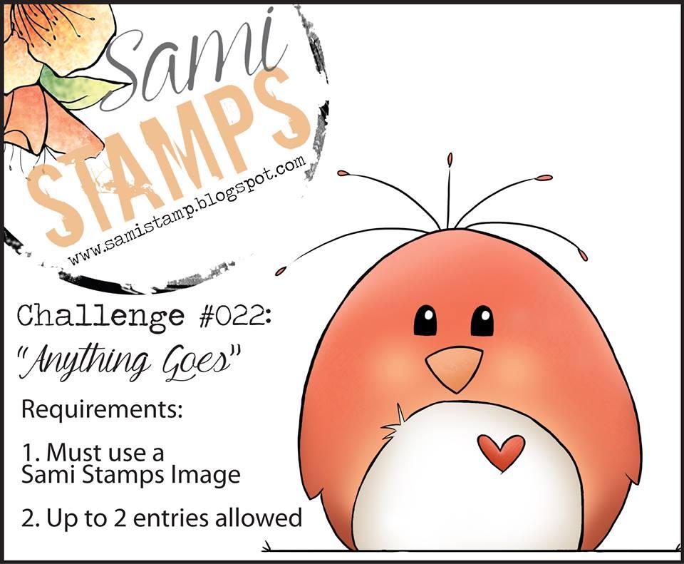 Sami Stamps Challenge #22