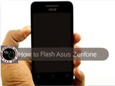 Cara Mudah Flashing Asus Zenfone 4 Tanpa Menggunakan PC