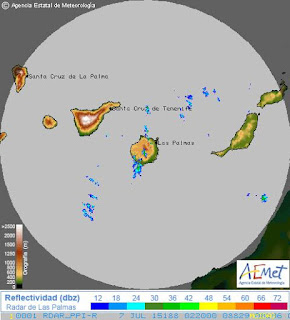 tormenta eléctrica Gran Canaria, madrugada 7 julio