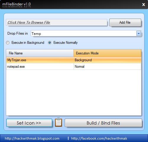 mFileBinder Advanced file binder