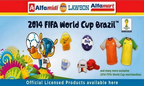 Alfamart official partner merchandise piala dunia