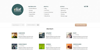 eList Wordpress Theme