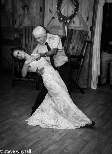 Virginia Farm Wedding Reception Dancing Photo