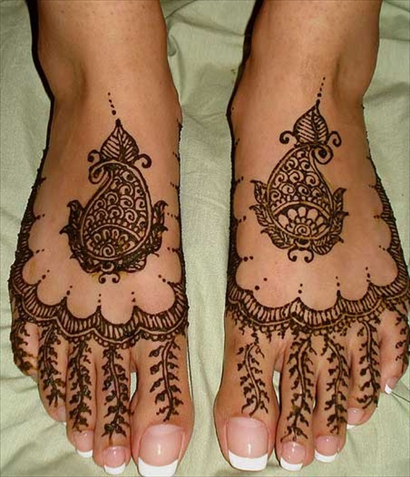 Mehndi Designs Jans : Feet mehndi latest designs wedding fashion