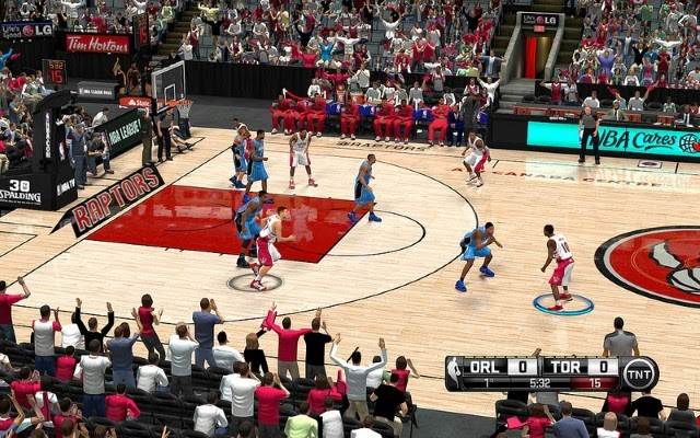 Raptors HD Court | NBA 2K14 PC Mod