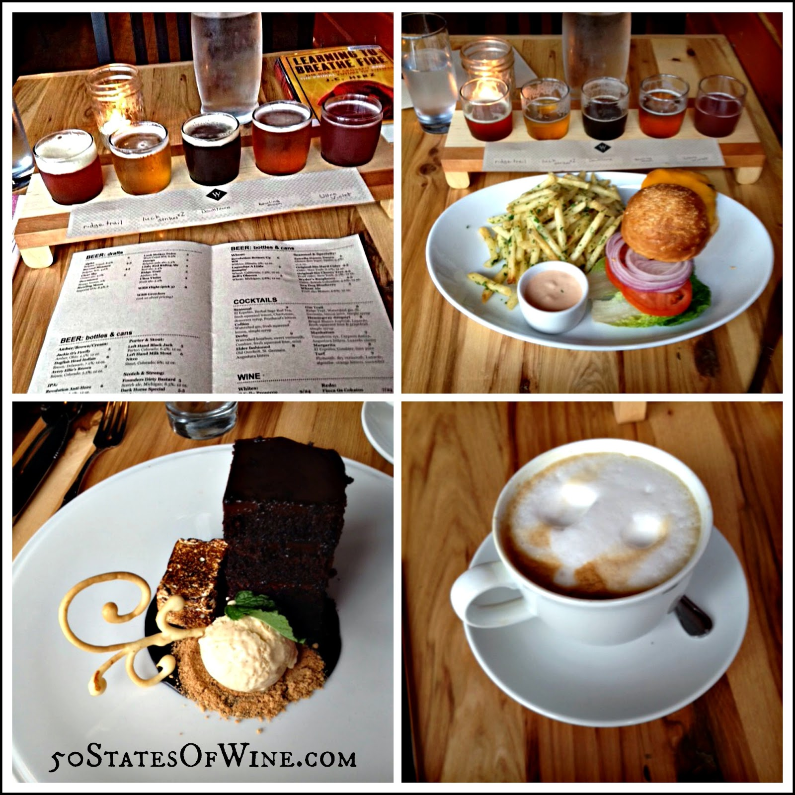 Wolf's Ridge Brewing Food