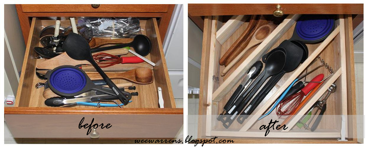 Wee warrens diagonal drawer divider tutorial wee warrens solutioingenieria Image collections