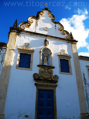 Igreja da Ordem Terceira do Carmo, em São Cristóvão - Sergipe - Por Tito Garcez