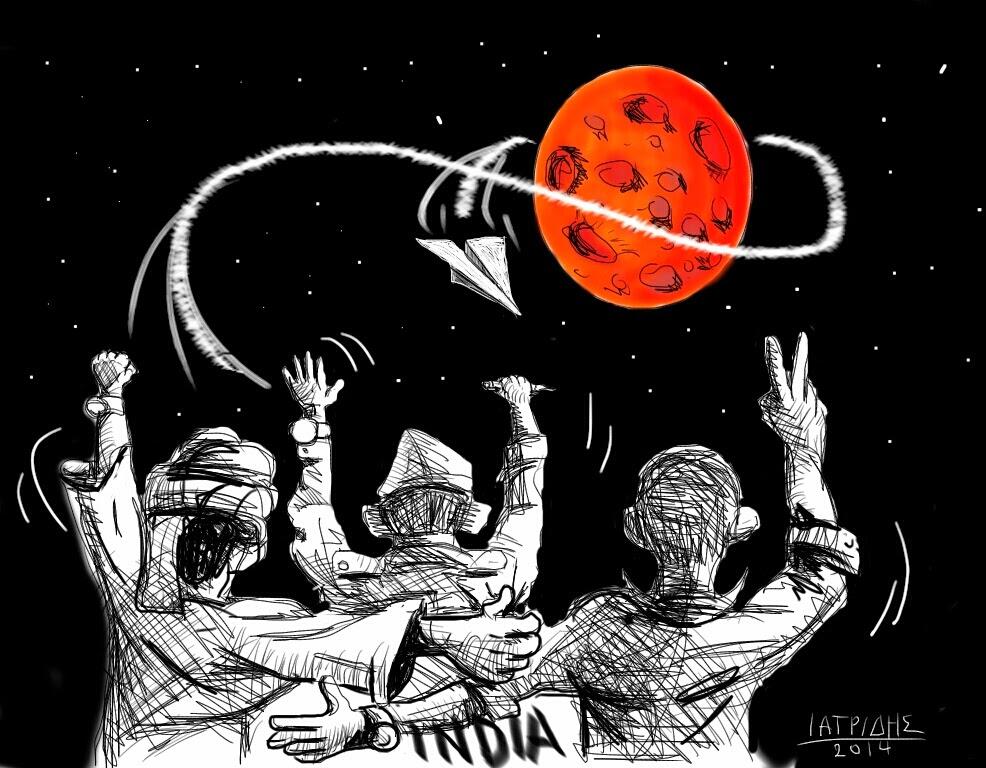 ...Χαμηλού κόστους δορυφόρος στον Άρη!!!