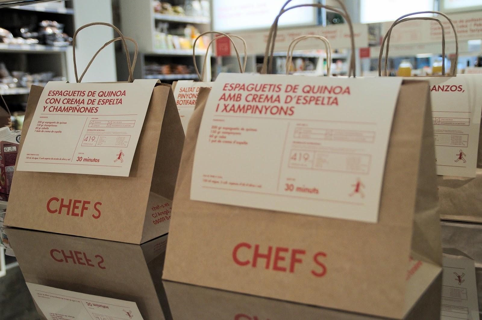 Chefs Tienda Organica Barcelona