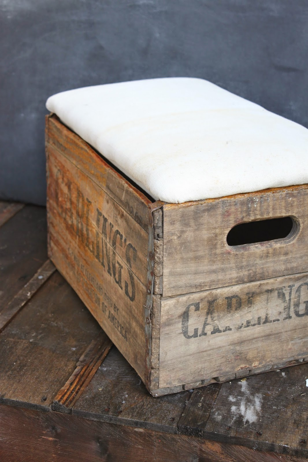 Namely original crate ottoman