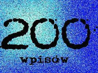 200 wpisów, antonina kostrzewa