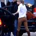 Fotos: Llegando a su hotel en Cannes, Francia (25 enero)