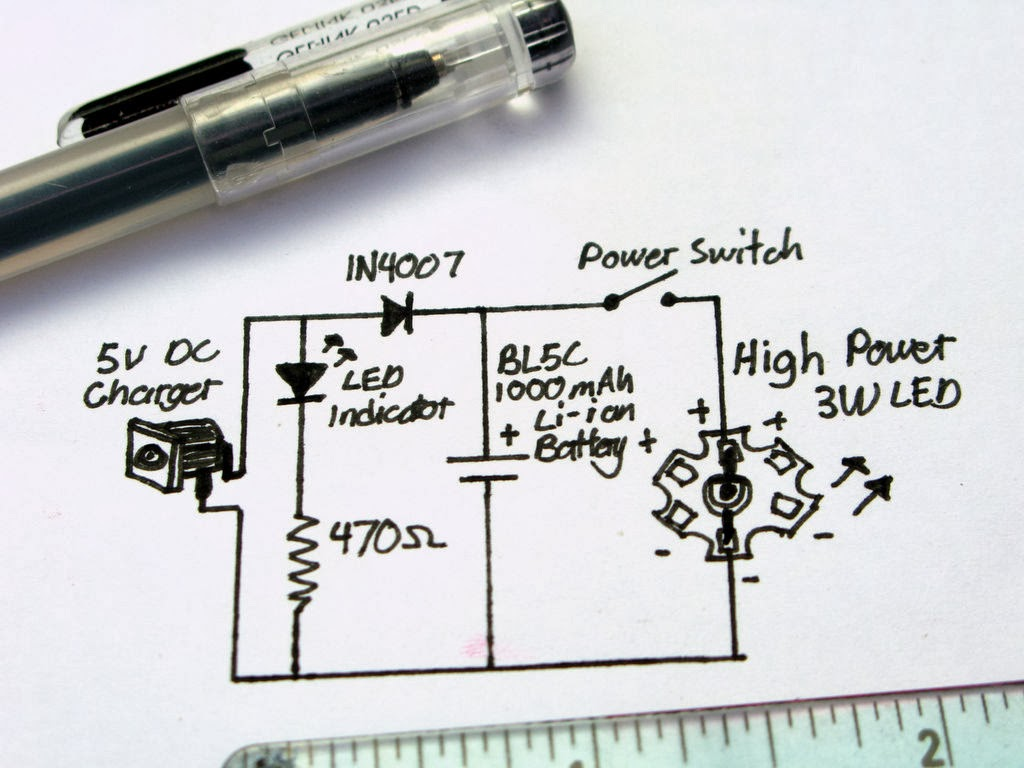 Ultrabright Led Emergency 5 Volt Circuit Diagram One Thing You Must Know Bl 5c Batteries They Have A Voltage Protection Inside Them Can Trickle Charge These At Volts
