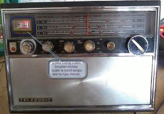 Radio Jadul Sudah Siap Pakai