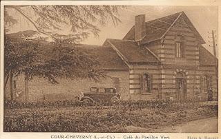 Café du Pavillon Vert - Cour-Cheverny