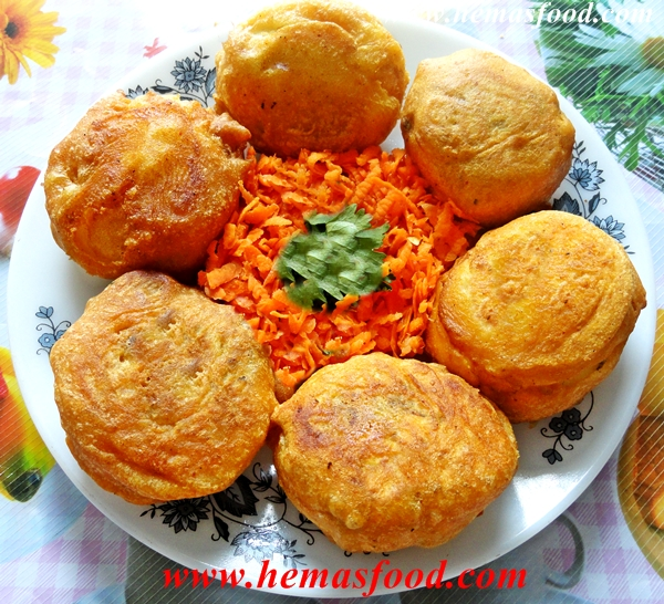Stuffed Egg Bonda