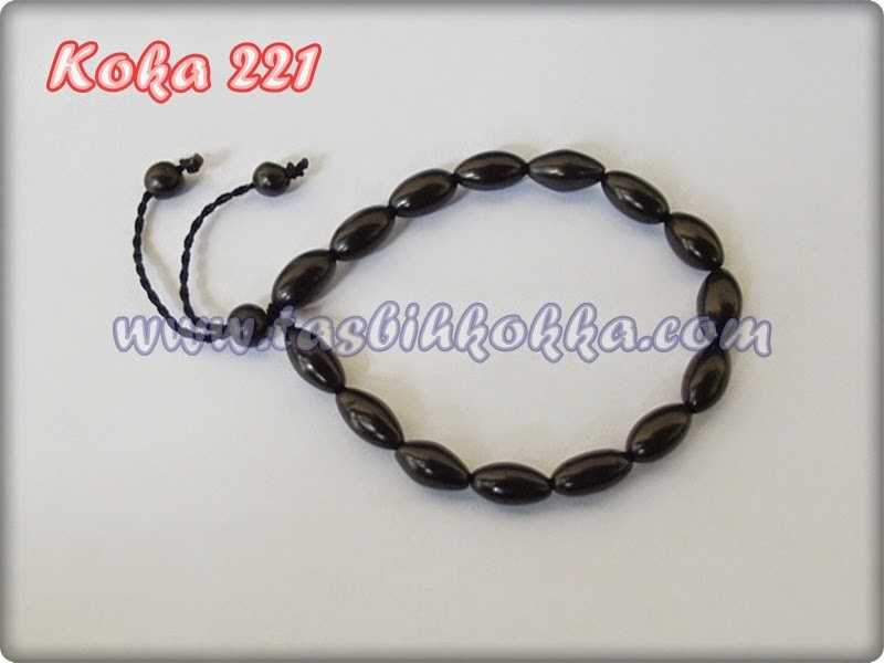 Gelang Kokka 221 oval hitam