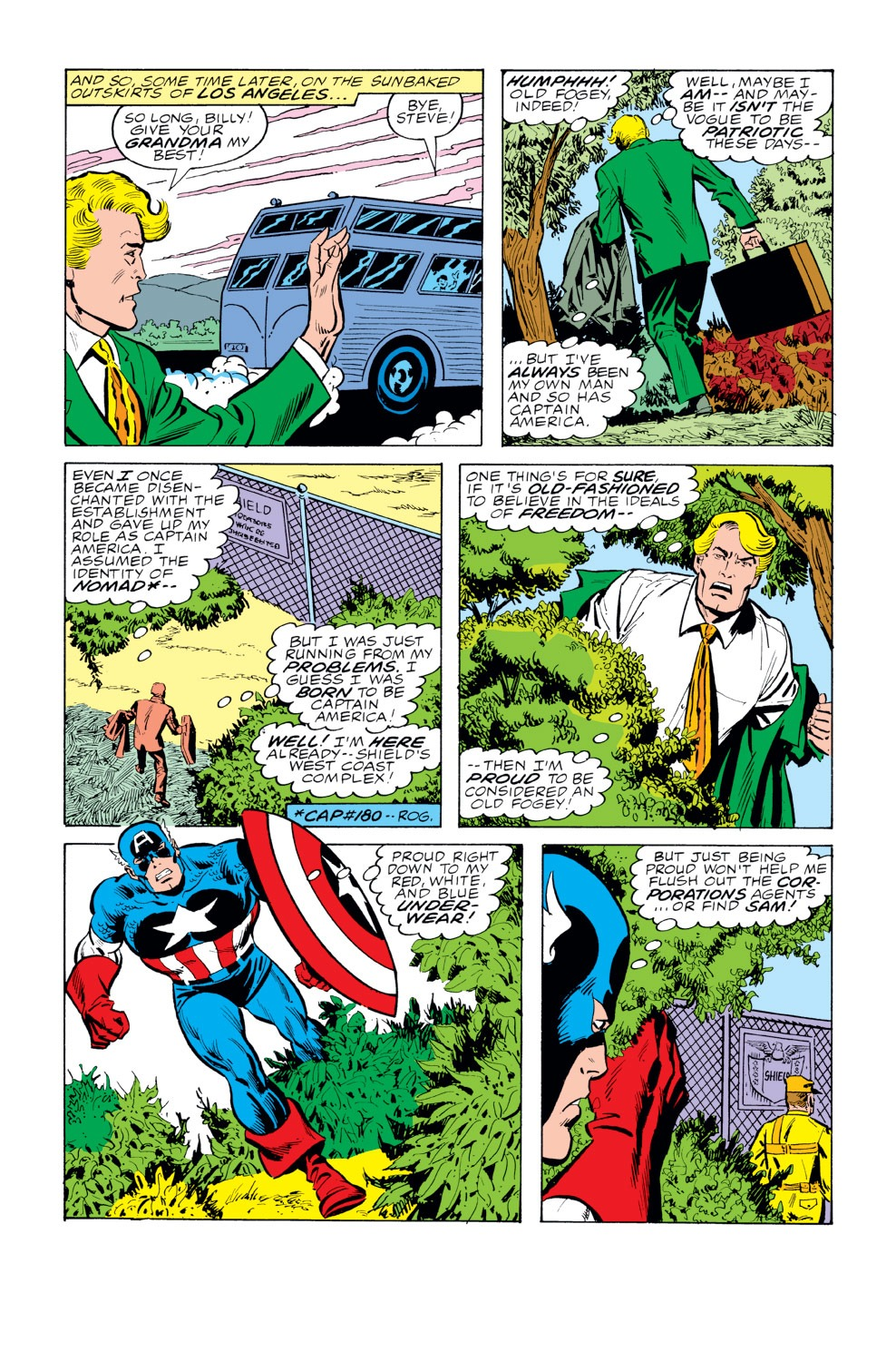 Captain America (1968) Issue #229 #143 - English 11