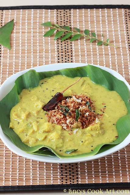 Chenai Vazhakkai Erissery recipe