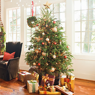 Christmas Tree Ideas shimmery