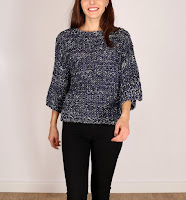 Bluza Stradivarius Dama Dark Knit Blue ( )