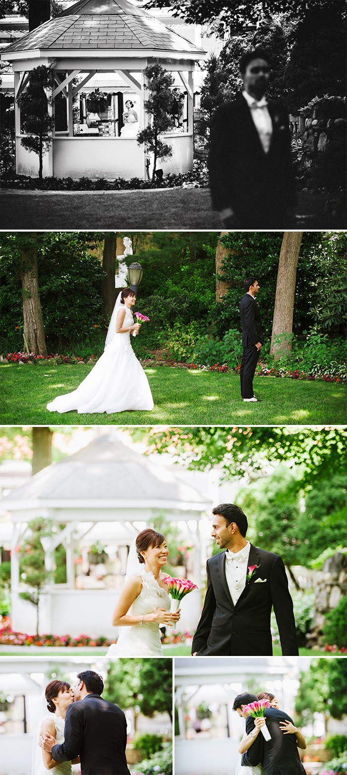 New York Long Island wedding photography Swan Club first look