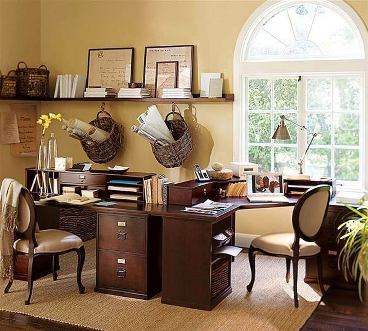 Classic Home Office Design Ideas 2014
