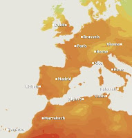 western Europe forecast |Europe weather |- Travel europe