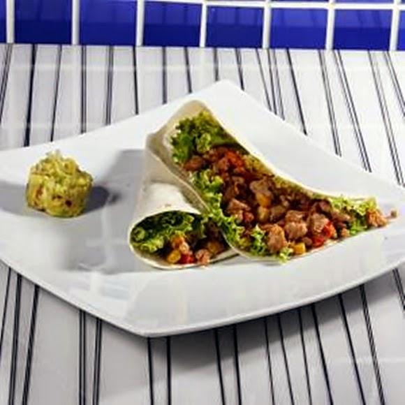 Wrap De Vegetales