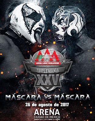 Ver AAA TripleMania XXV en VIVO GRATIS