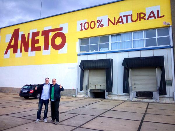 visita a la fabrica de Aneto Natural
