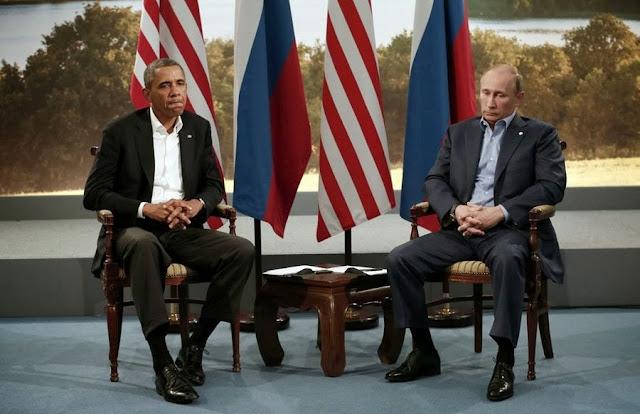 Встреча Владимира Путина и Барака Обамы в рамках саммита G8