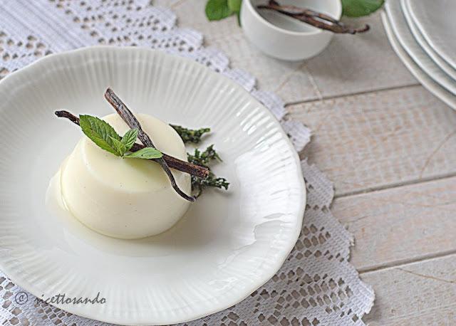 ricetta dessert Budino alla vaniglia senza uova