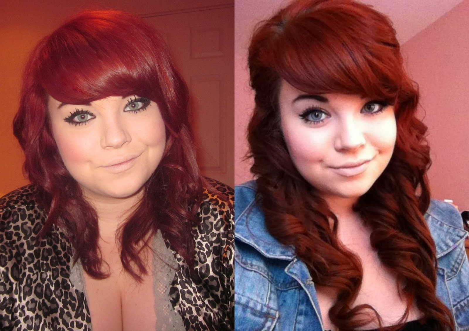 red hair, extensions
