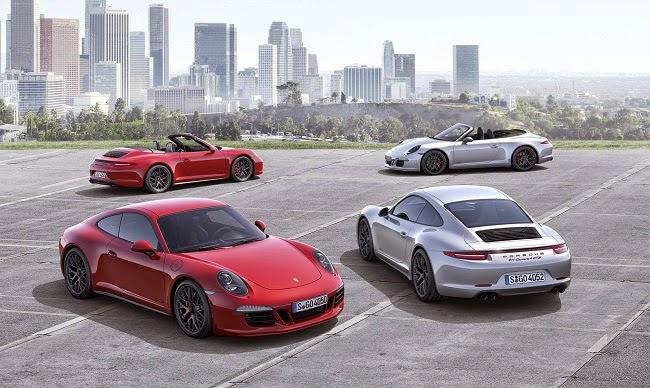 Porsche 911 Carrera GTS 2015