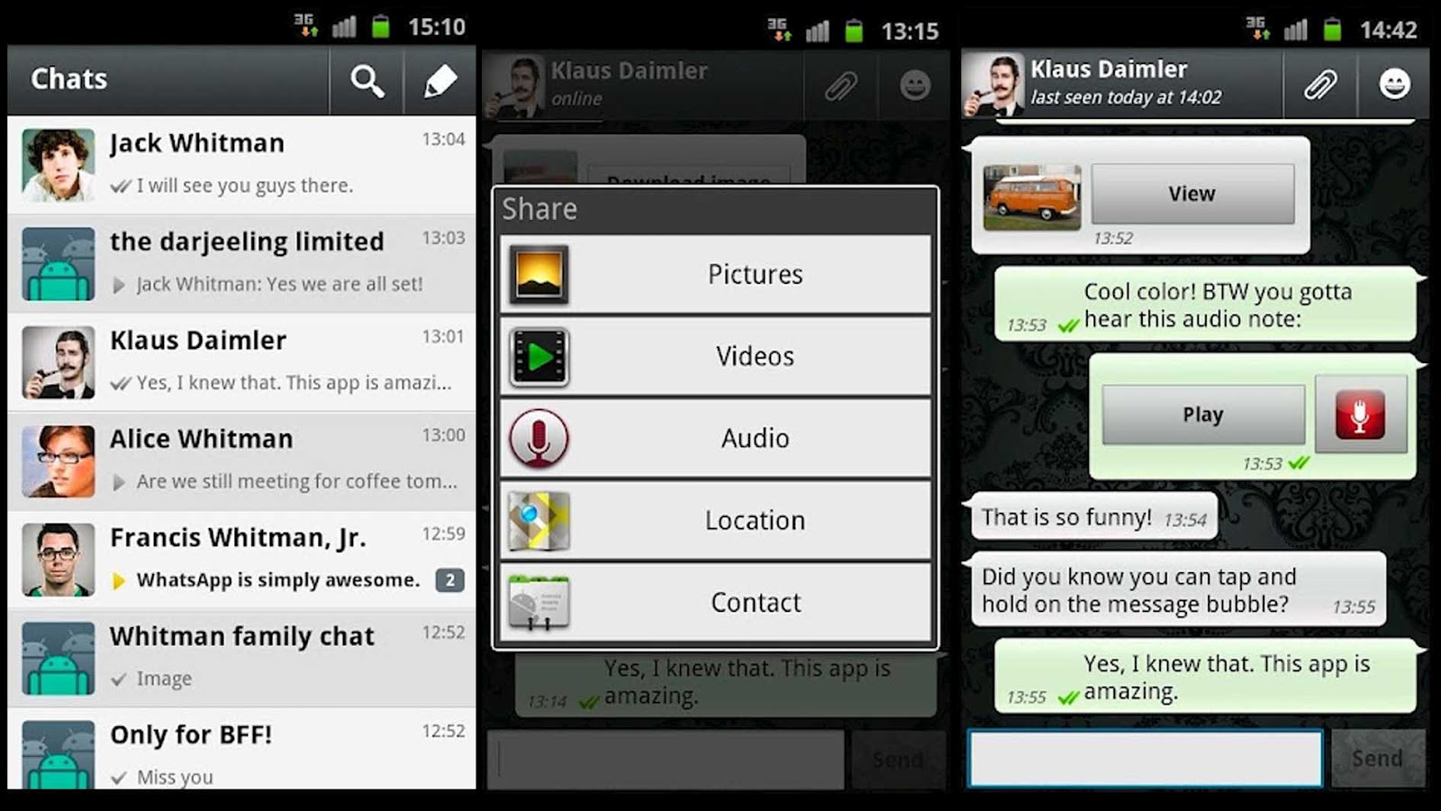 Send Blank Message and Blank Status on WhatsApp
