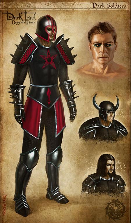 Rolero Artwork de The Dark Triad: Dragon's Death