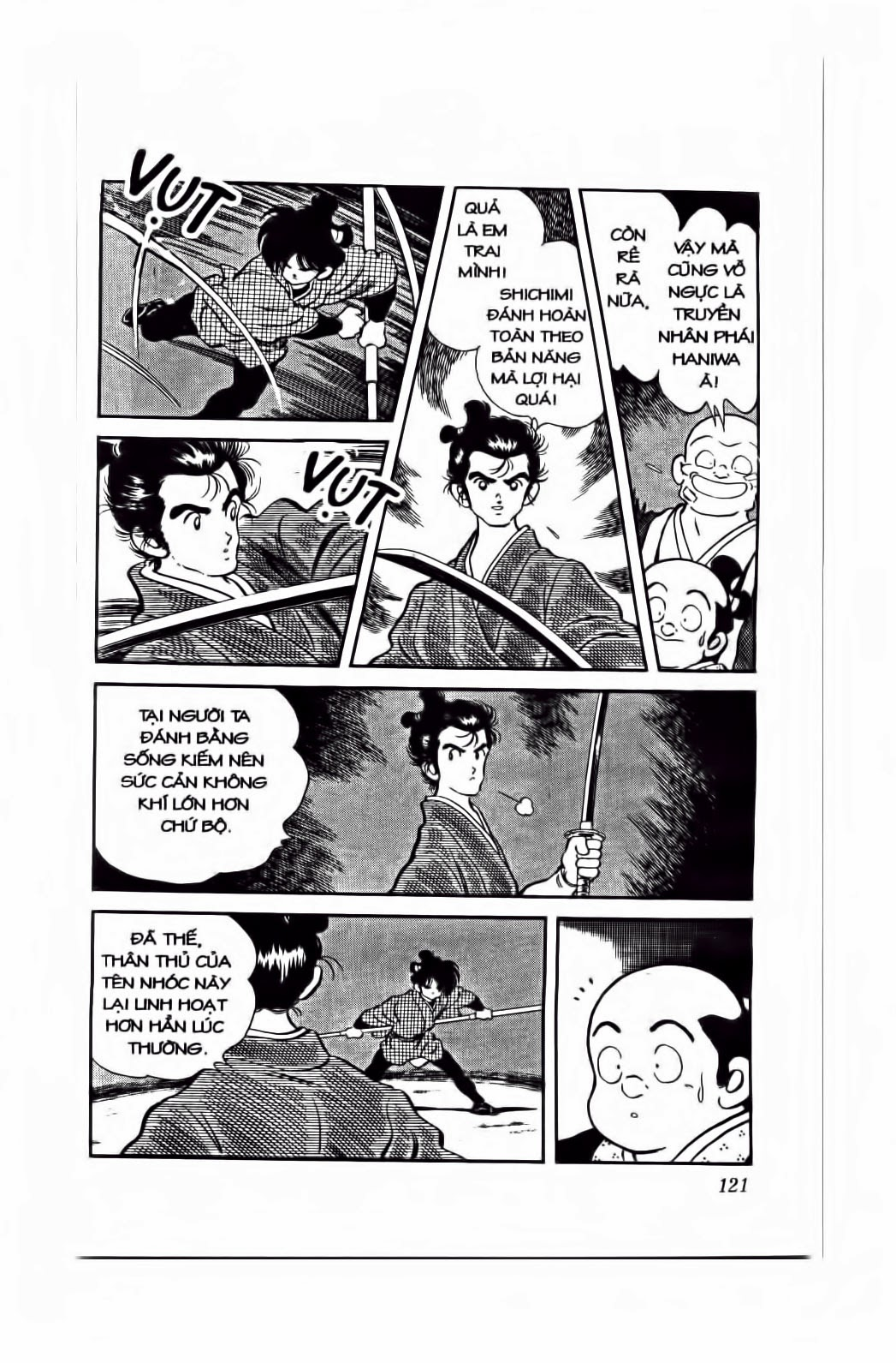 Nijiiro Togarashi - Ớt Bảy Màu chap 76 - Trang 10