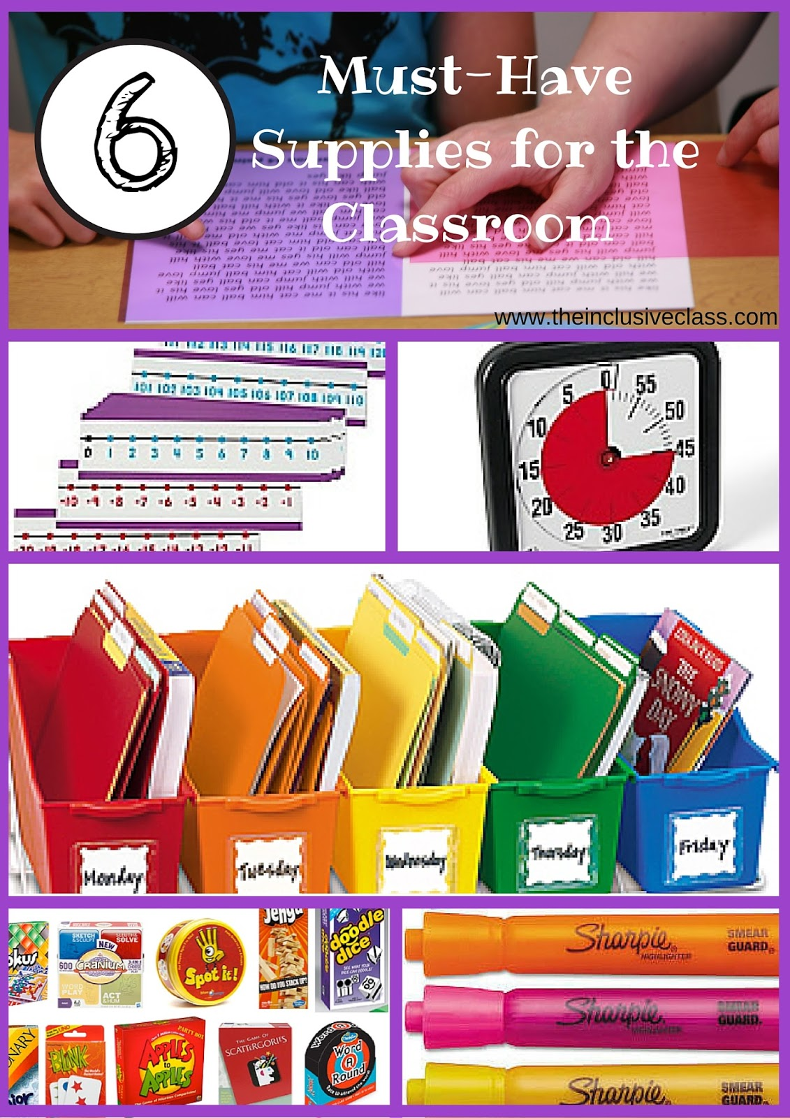 6 Must-Have Supplies for the Classroom