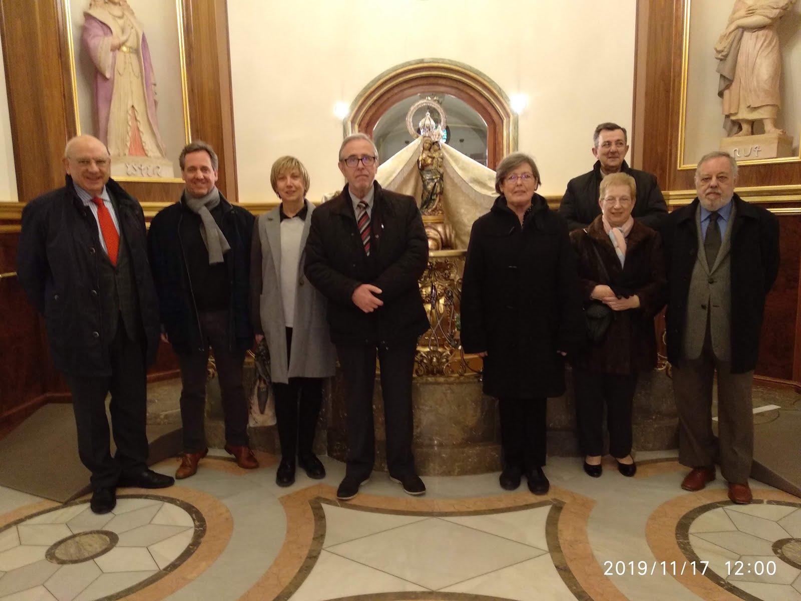 Peregrinació anual de l'associació de Concerts de Reus al Santuari