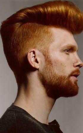 Cortes de pelo para hombres pelirrojos