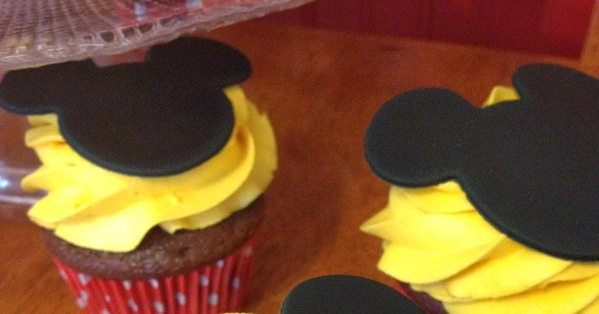 I Love Cake Design Puntate : Sugar Love Cake Design: Mickey Mouse Cupcakes
