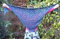 Pyramide shawl