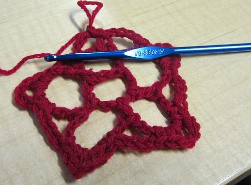 Crochet Hair Net Star Flower Veeness Designs Etc
